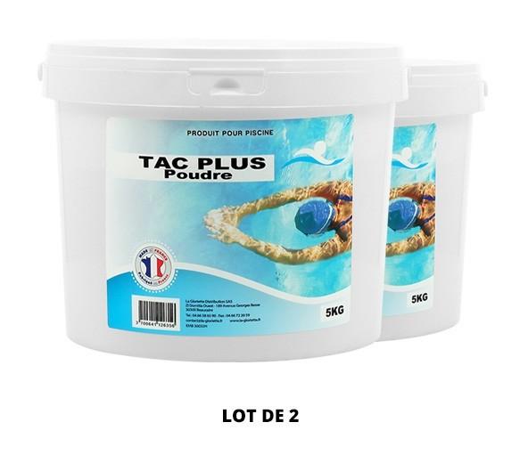 TAC Plus poudre - 2x5kg de pH, TAC - Swimmer