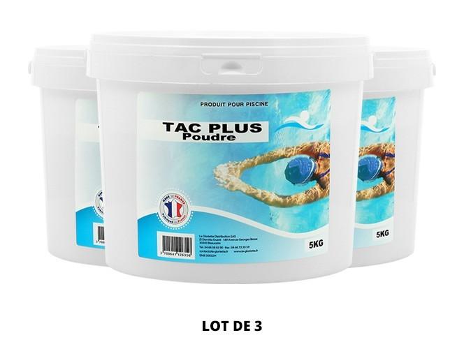 TAC Plus poudre - 3x5kg de pH, TAC - Swimmer