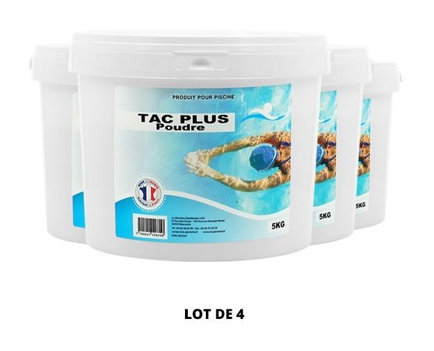 TAC Plus poudre - 4x5kg de pH, TAC - Swimmer