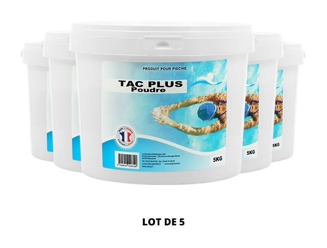 TAC Plus poudre - 5x5kg de pH, TAC - Swimmer