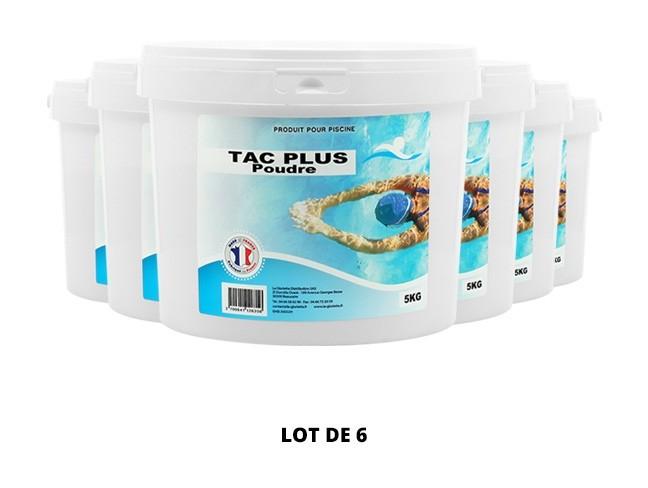 TAC Plus poudre - 6x5kg de pH, TAC - Swimmer