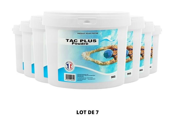 TAC Plus poudre - 7x5kg de pH, TAC - Swimmer
