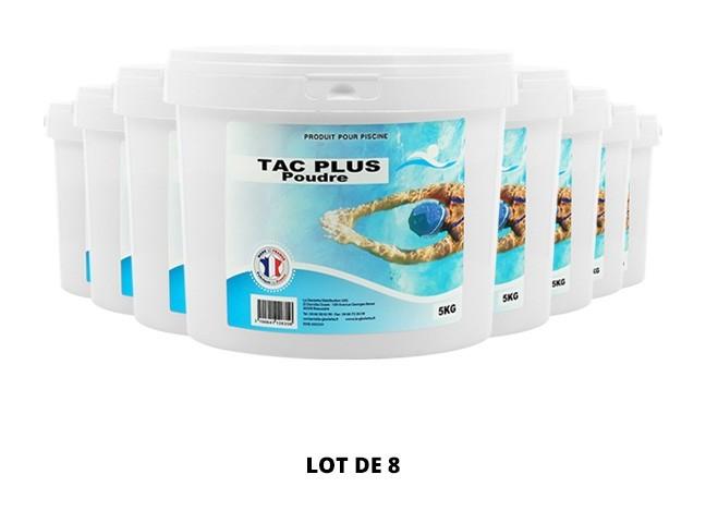 TAC Plus poudre - 8x5kg de pH, TAC - Swimmer
