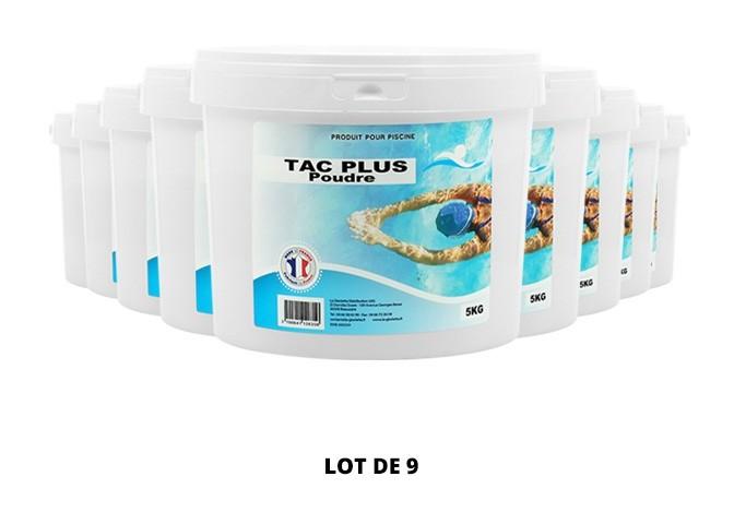 TAC Plus poudre - 9x5kg de pH, TAC - Swimmer