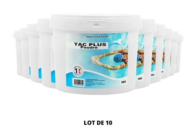 TAC Plus poudre - 10x5kg de pH, TAC - Swimmer