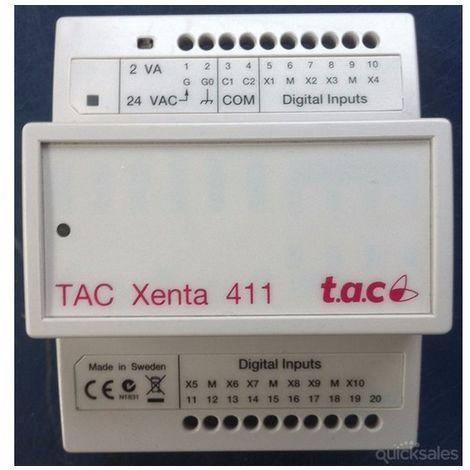 T.A.C Xenta 411 V1 Programmable Controller - 007302011
