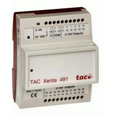 T.A.C Xenta 491 V1 - Out module Analog - 007303010