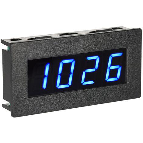 "Tachymetre De Frequence Numerique 0.56 ""4 Led, 5-9999R / M Dc 8-15V, Bleu"