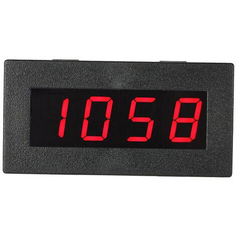 """Tachymetre De Frequence Numerique 0.56 """"4 Led, 5-9999R / M Dc 8-15V, Rouge"""