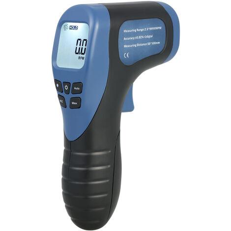 Tachymetre de moteur sans contact a affichage numerique portable TL-900 rouge livre sans batterie