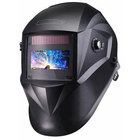 TACKLIFE Masque Soudage Automatique, Masque Soudure Classe Optique 1/1/1/1 avec 4 Capteurs, Gamme d'Ombre Complète 4/4-8/9-13, Modes TIG MIG MAG etc, 6 Lentilles de Remplacement PAH04D