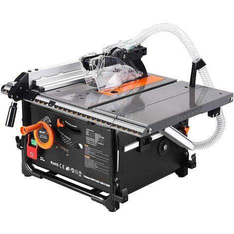"""main image of """"TACKLIFE Tischkreissäge, Staubfreie Tischkreissäge mit leistungsstarkem Motor, 98% Spanabsaugrate, 45° Schrägschnitt, Ausziehbarer Tisch-TLTS02A"""""""