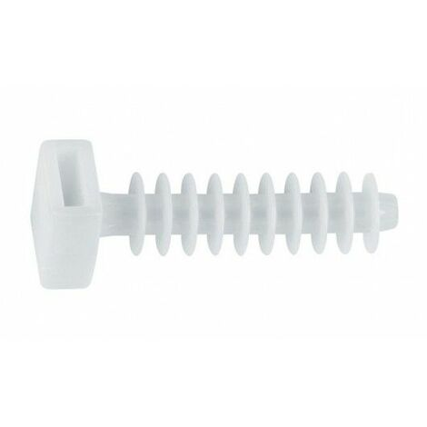 Taco Brida 8Mm Nylon Blanco Tacobri Index 100 Pz