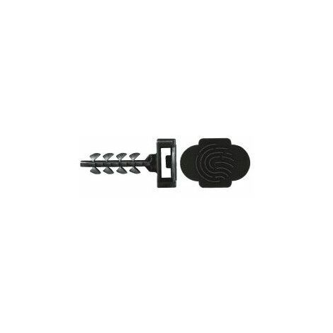 Taco Brida rapido Nylon CELO 946EXPIFB 6mm Negro (bote 125 unidades)