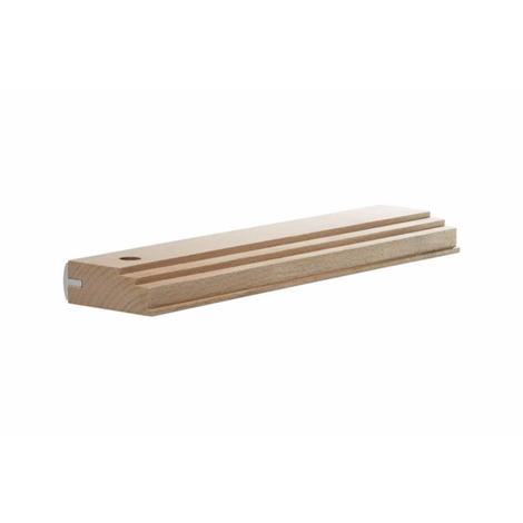 Taco de madera reforzado para tarimas Wolfcraft