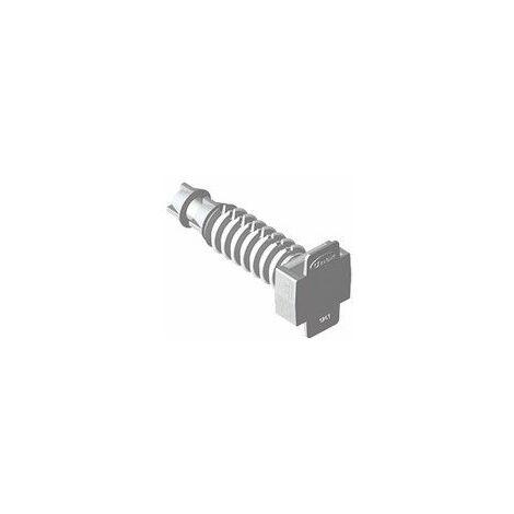 Taco gris para brida Unex 1253-3 bolsa de 100 unidades