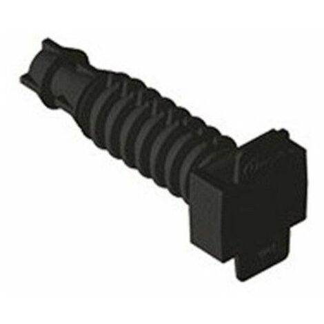 Taco negro para brida Unex 1253 bolsa de 100 unidades