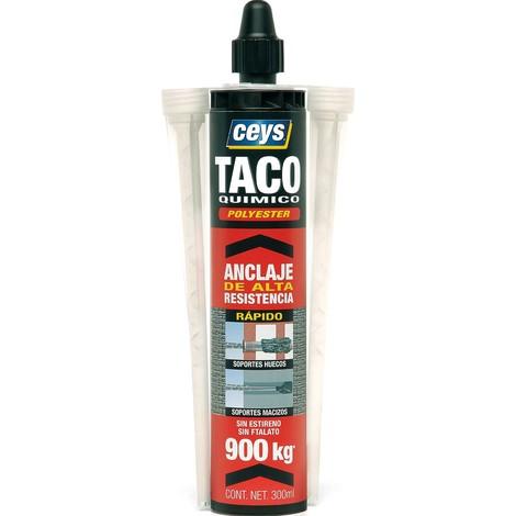 Taco Quimico Poliester 300 Ml - CEYS - 901610