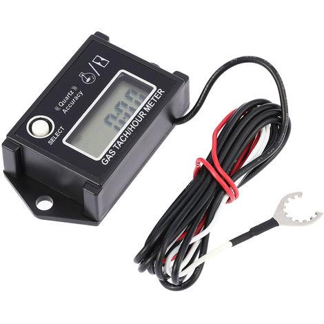 Tacometro digital, tacometro / medidor de horas, medidor de RPM