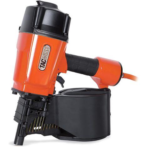 Tacwise 83mm Coil Air Nail Gun (HCN83P) Fires 2.5-3.3 Flat Coil Nails 38-83mm