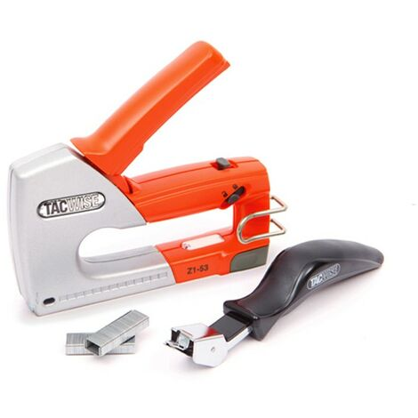Tacwise Z1-53 Metal Staple Gun Tacker 53 Type Staple Remover Kit 4-8mm 0889