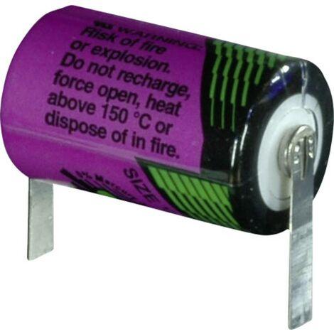 Tadiran Batteries SL 550 T Spezial-Batterie 1/2 AA hochtemperaturfähig, U-Lötfahne Lithium 3.6V 90 S641431