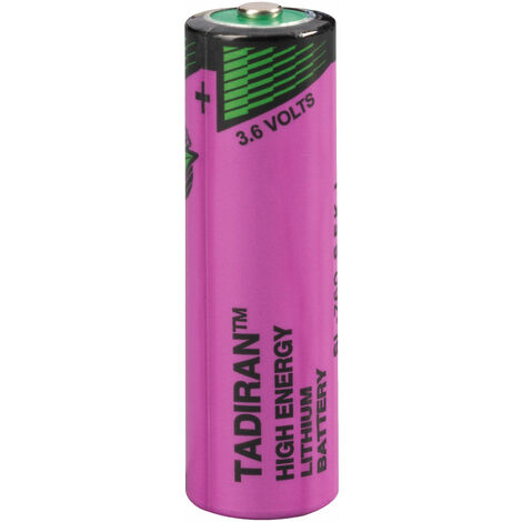 Tadiran Batteries SL-760/S AA Size 2200mAh Lithium Battery Cell 3.6V