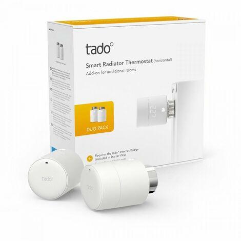 TADO Tetes Thermostatiques connectées - Duo Pack