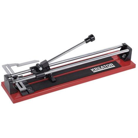 Tagliapiastrelle manuale taglio 500mm con disco scorrimento acciaio KRT001002