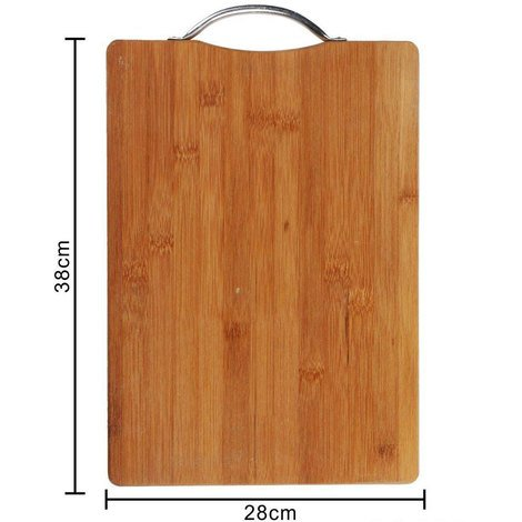 Tagliere in legno con manico in acciaio per aperitivo vassoio ...