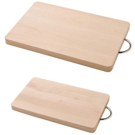 Tagliere legno faggio Prestige 35x23x2 cm utensili strumenti da cucina