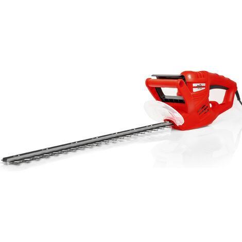 Taille-haie électrique Grizzly Tools EHS 6000 Longueur de coupe 55 cm 600 Watt Interrupteur de sécurité Frein de lame