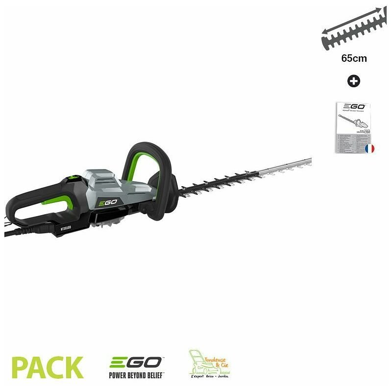 Ego Power+ - Taille haie professionnel double lame 65 cm Egopower coupe 33 mm HTX6500