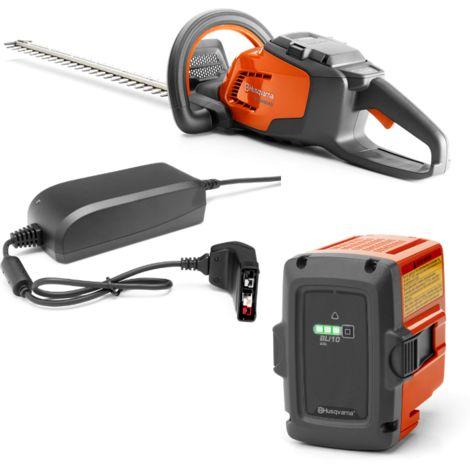 Taille-haie sur batterie Li-ion 36V HUSQVARNA - longueur lame 45cm - batterie + chargeur - 115iHD45