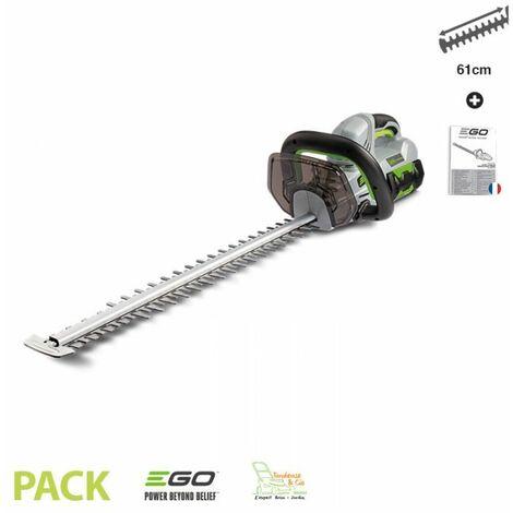 Taille haies electrique Ego Power+ HT2400E sur batterie sans fil lame 61 cm