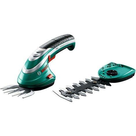 Taille-herbe, Sculpte-haies sans fil Bosch Home and Garden Isio Set Li-Ion avec batterie