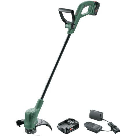 Taille-herbes sans fil Bosch - EasyGrassCut 18-260 (Livrée avec 2 batteries 18V-2Ah, chargeur, Ø de coupe: 26cm)