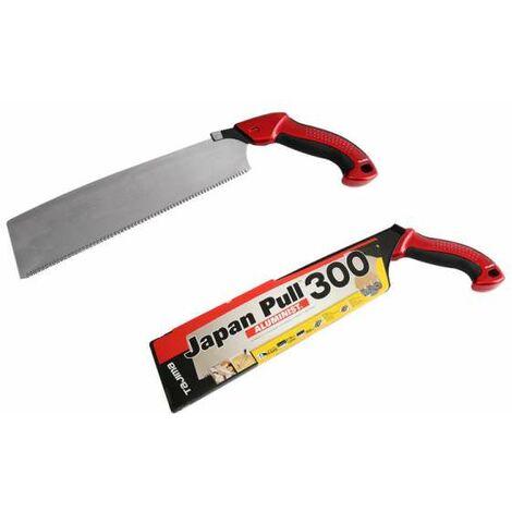 TAJIMA Japan Pull Aluminist® 300 Zugsäge 300 mm, 2 Komponentengriff, JPR300A/R1