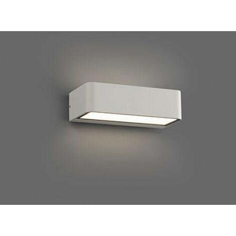 "main image of ""Applique extérieure led Faro Takua Blanc Aluminium 71308"""