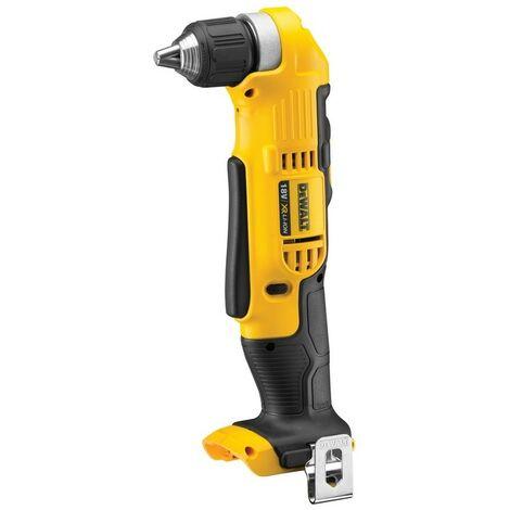 Taladro angular XR 18V 10 mm 33 Nm sin cargador ni bateria - DEWALT - Ref: DCD740N-XJ - Referencia del fabricante: DCD740N-XJ