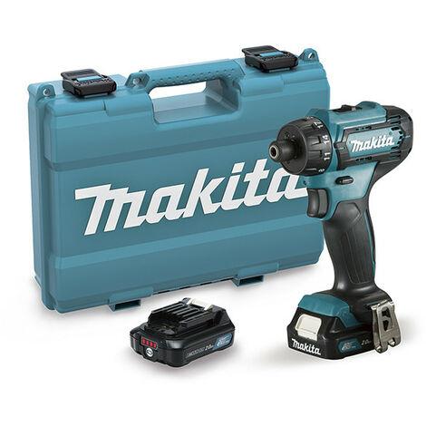 "Taladro atornillador 12V CXT 35Nm 2Ah 2 bat. 1/4"" Makita"