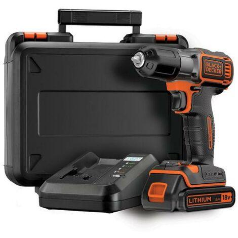 Taladro atornillador 18V Autosense Black & Decker