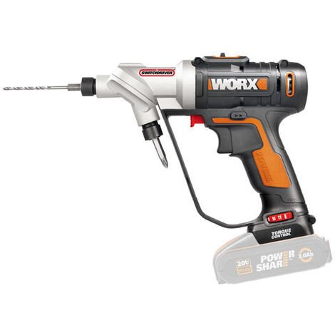 Taladro atornillador ajustable Worx POWER SHARE WX176.9