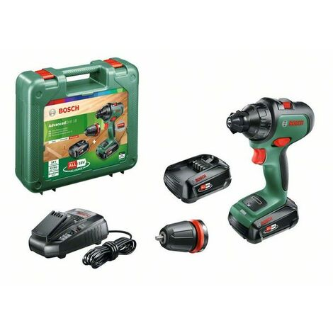 Taladro atornillador Bosch AdvancedDrill 18 QuickSnap