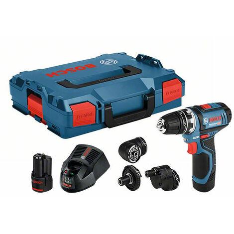 Taladro atornillador Bosch GSR 12V-15 FC Set