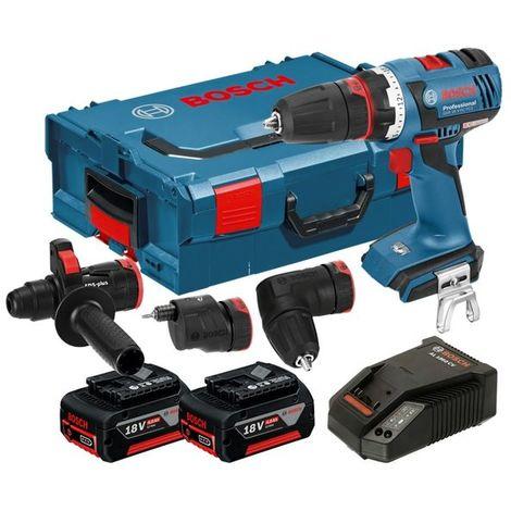 Taladro atornillador Bosch GSR 18 V-EC FC2 set