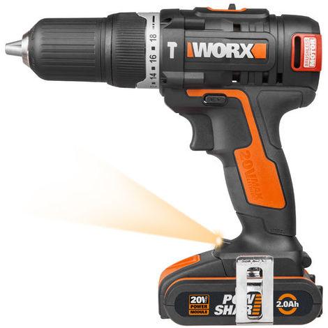Taladro atornillador de impacto Worx POWER SHARE WX367.3
