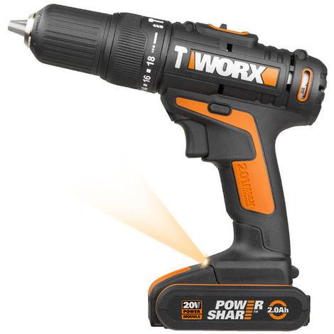 Taladro atornillador de impacto Worx POWER SHARE WX371.1