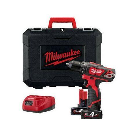 Taladro atornillador de Milwaukee M12BDD-402.12 V 4AH 4933441925