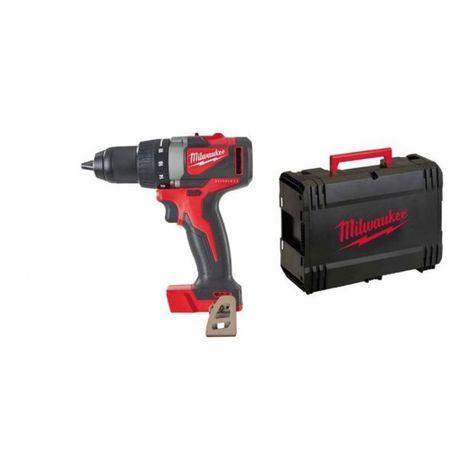 Taladro atornillador M18 Brushless SIN ESCOBILLAS, 85Nm, Red Lithium (Sólo máquina) HD Box M18BLDD2-0X